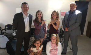 Girls Rock receives £2,000 from the Provident Good Neighbour Programme